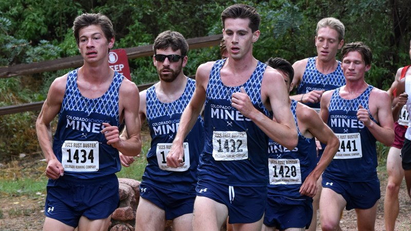 #1 Mines Topples Nationally-Ranked DI's in Arkansas